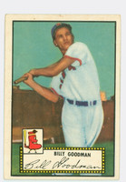 1952 Topps Baseball 23 Billy Goodman Boston Red Sox Very Good to Excellent Black Back