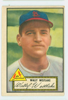 1952 Topps Baseball 38 Wally Westlake St. Louis Cardinals Very Good to Excellent Black Back