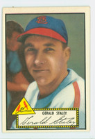 1952 Topps Baseball 79 Gerald Staley St. Louis Cardinals Very Good to Excellent Black Back