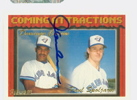 Domingo Cedeno AUTOGRAPH 1994 Topps Coming Attractions Blue Jays   [SKU:CedeD11171_T94BB]