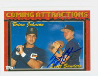 Scott Sanders AUTOGRAPH 1994 Topps Coming Attractions Padres   [SKU:SandS13310_T94BB]
