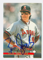 Rene Gonzales AUTOGRAPH 1993 Topps Stadium Club Angels   [SKU:GonzR10341_TPSC93]