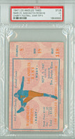 1947 Los Angeles Rams PAIR of Ticket Stubs vs Washington Redskins Pre-Season Charity Game for LA Times -   September 5, 1947 PSA/DNA Authentic Slabbed