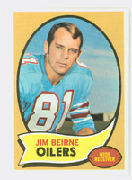 1970 Topps Football 19 Jim Beirne Houston Oilers Near-Mint to Mint