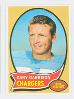 1970 Topps Football 23 Gary Garrison San Diego Chargers Near-Mint to Mint