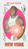 1969 Topps Basketball 60 Willis Reed ROOKIE New York Knicks Excellent