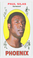 1969 Topps Basketball 61 Paul Silas ROOKIE Pheonix Suns Very Good to Excellent