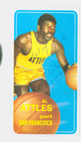 Al Attles AUTOGRAPH 1970 Topps Basketball Warriors 