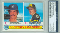 Gaylord Perry AUTOGRAPH 1979 Topps Victory Leaders #5 Padres PSA/DNA   [SKU:PerrG1629_T79BBPLAPpa]