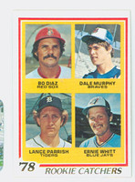 1978 Topps Baseball 708 Rookie Catchers Excellent to Mint