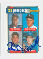 Turk Wendell DUAL SIGNED 1992 Topps Cubs   [SKU:WendT13808_T92BBDRax]