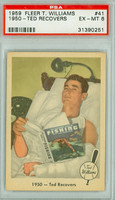 1959 Fleer Ted Williams 41 Ted Recovers PSA 6 Excellent to Mint