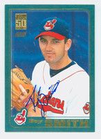 Roy Smith AUTOGRAPH 2001 Topps Indians 