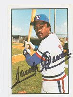 Sandy Alomar AUTOGRAPH 1978 SSPG All Star Gallery Rangers 