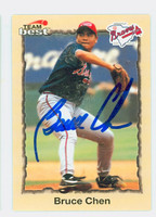 Bruce Chen AUTOGRAPH 1998 Team Best Braves 