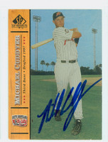 Mike Cuddyer AUTOGRAPH 2000 SP Top Prospects New Britain 