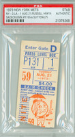 1973 New York Mets Ticket Stub vs Los Angeles Dodgers Bill Russell HR #14 - August 21, 1973 [Y73_Mets0821S_pa_1] PSA/DNA Authentic