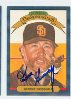 Rich Gossage AUTOGRAPH 1986 Donruss #2 Diamond King Padres 
