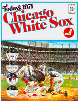 1971 Dell Official Stamp Booklet Chicago White Sox Excellent to Mint