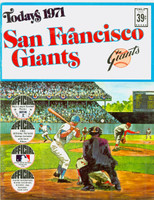 1971 Dell Official Stamp Booklet San Francisco Giants Excellent to Mint