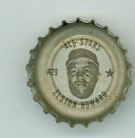1967 Coke Caps All-Stars 29 Elston Howard New York Yankees Excellent to Excellent Plus