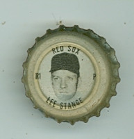 1967 Coke Caps Red Sox 1 Lee Stange Boston Red Sox Near-Mint