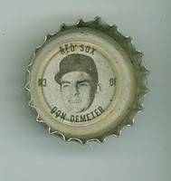 1967 Coke Caps Red Sox 3 Don Demeter Boston Red Sox Excellent to Mint