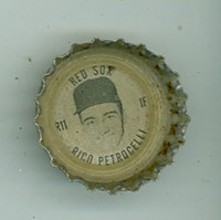1967 Coke Caps Red Sox 11 Rico Petrocelli Boston Red Sox Excellent to Mint