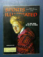 1960 Sports Illustrated February 1 Olympian Betsy Snite Excellent