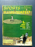1960 Sports Illustrated April 11 6th Annual Baseball Issue Good to Very Good [Lt Moisture - contents ok]