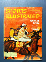 1960 Sports Illustrated May 2 Kentucky Derby Fair to Poor [Moisture - readable]