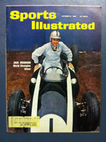 1960 Sports Illustrated October 31 Jack Brabham (Racing) Excellent