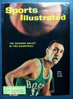 1961 Sports Illustrated January 16 Bob Cousy Very Good to Excellent