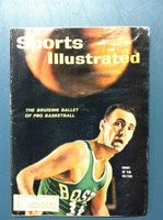 1961 Sports Illustrated January 16 Bob Cousy Fair to Poor [Heavy moisture - readable throughout]