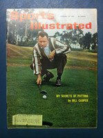 1961 Sports Illustrated February 20 Billy Casper Very Good to Excellent
