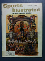 1961 Sports Illustrated July 10 Tennis Excellent