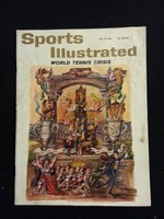 1961 Sports Illustrated July 10 Tennis Fair to Good- No Mailing Label