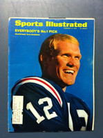 1970 Sports Illustrated Feb 9 Terry Bradshaw (LSU) First Cover Very Good to Excellent [Sl corner bend, lt wear - contents fine]