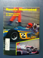 1970 Sports Illustrated June 8 Al Unser Indy Victory Very Good [Severe corner bend - contents fine]