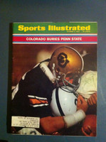 1970 Sports Illustrated Oct 5 Colorado Buries Penn State Excellent