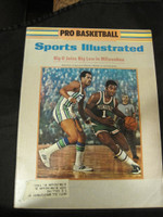 1970 Sports Illustrated October 26 Oscar Robertson (Big O Joins Milwaukee) Excellent