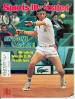 1981 Sports Illustrated June 15 Bjorn Borg Excellent to Mint