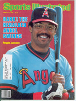 1982 Sports Illustrated March 15 Reggie Jackson Excellent