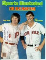 1982 Sports Illustrated July 19 Pete Rose and Carl Yastrzemski Very Good to Excellent