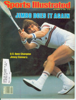 1982 Sports Illustrated September 20 Jimmy Connors Wins US Open Excellent
