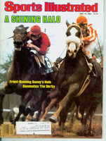 1983 Sports Illustrated May 16 Kentucky Derby - Sunny's Halo Excellent to Mint