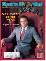1981 Sports Illustrated December 28 Sugar Ray Leonard (Sportsmen of the Year) Excellent