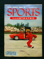 1954 Sports Illustrated September 13 Stock Car Racing Very Good to Excellent Minor scuffing on cover, overall Excellent, contents fine