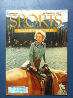1954 Sports Illustrated October 4 Cowgirl Fashions Excellent to Mint [Very Clean]