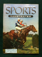 1954 Sports Illustrated October 18 Belmont Steeplechase Very Good Minor scuffing on cover, overall Excellent, contents fine